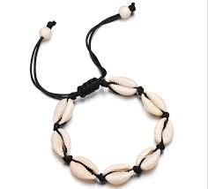 2019 <b>Hot Sale Handmade Natural</b> Seashell Hand Knit Bracelet ...