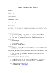 career objective for teacher resume template career objective for teacher resume