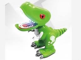 <b>Радиоуправляемый</b> динозаврик <b>Feilun</b>, <b>звук</b>, свет, сенсор в ...