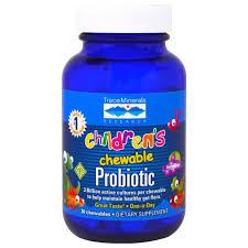 Trace Minerals Research, Children's Chewable Probiotic, Concord ...