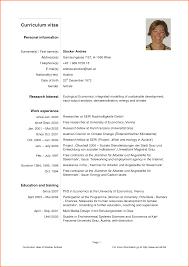 curriculum vitae cv format event planning template curriculum vitae pdf format