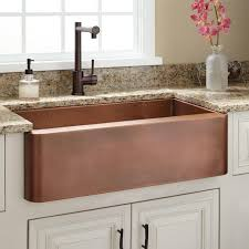 hammered copper kitchen sink: the raina copper farmhouse sink makes a welcome addition to gourmet and casual kitchens alike wonderfully deep to accommodate bulky cookware this spacious