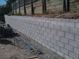 Small Picture cinder block retaining wall drainage Cinder Block Retaining Wall