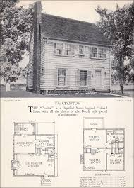 Colonial Revival House Plan   The Crofton   Home Builders Catalog Home Builders Catalog   Crofton