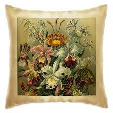 """Подушка """"<b>Орхидеи</b> (Orchideae, Ernst Haeckel)"""" #2296249 от ..."""