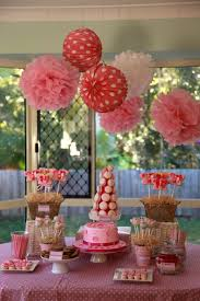 images fancy party ideas: decorationsnice decoration for party table wtih strong red table cloth with fancy cake and