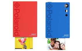 Polaroid Mint <b>2-in-1 digital</b> camera has built-in photo printer ...