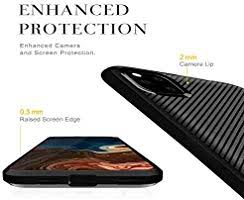 iPhone 11 Pro Case Cover Slim Soft <b>Carbon Fiber Pattern Silicone</b> ...