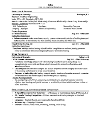 resume examples zipjob view