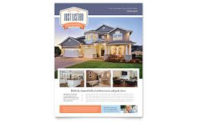 real estate flyers  templates amp designs new property flyer template