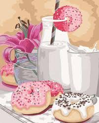 <b>Картина по номерам Русская</b> живопись: Сладкий завтрак ...