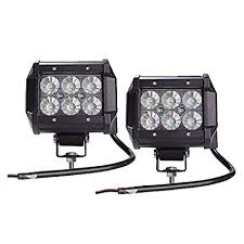 Welsun 2Pcs/lot 18W Car Led Light Bar Work Light ... - Amazon.com
