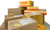 DHL: Order supplies: Select items