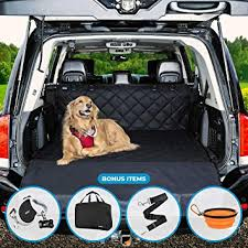 Universal Car Seat Covers for Dogs: Cargo Liner ... - Amazon.com