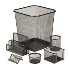Gosport 6 Piece <b>Steel Mesh Desk</b> Organizer Set & Reviews | Joss ...