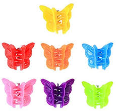 <b>100pcs Butterfly</b> Snap Clip Hair Barrette Lovely Clip Assorted <b>Color</b> ...