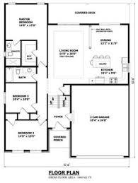 sq ft         quot  W x       quot  D   The Edmonton Bungalow House Plan    Favorite raised bungalow plan ever