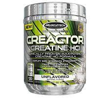 Creactor Micronized Creatine and Creatine HCl Powder, Muscle ...