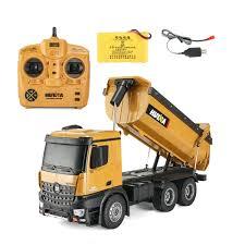 HuiNa 1573 RC Car 1/14 Trucks me<x>tal Bulldozer Charging <b>RTR</b> ...