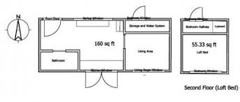 Tiny House on Wheels Serves Family of FourLeafhouse Version Floor Plan
