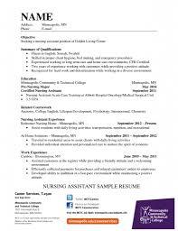 Cna Job Description Resume Resume For Your Job Application