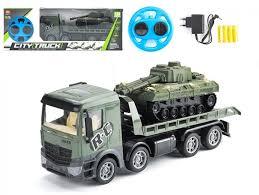 """CityTruck """"<b>Радиоуправляемый грузовик</b>-<b>трейлер</b> + танк 1:24 - 553 ..."""