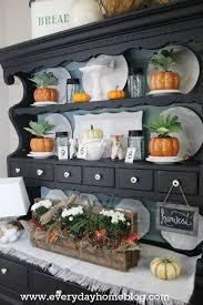 ideas china hutch decor pinterest: nice fall decorating  nice fall decorating