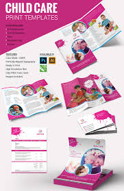 10 beautiful child care brochure templates premium templates child care print templates package