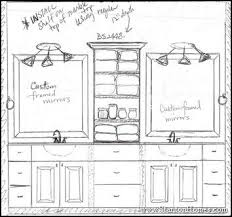 designing bathroom layout: love the double vanity design with center storage to replace ugly medicine cabinet middot master bathroom layout