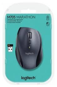 <b>Беспроводная мышь Logitech</b> Marathon M705 — купить по ...