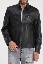<b>Кожаная куртка IPARELDE</b> арт E5294_BLACK BLACK ...