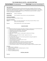 resume job description for housekeeping resume builder resume job description for housekeeping housekeeping job description best sample resume duties hotel housekeeping job hotel