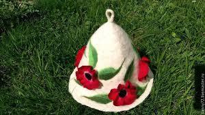 шапка для бани и сауны the body time эконом 70106 серый