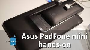 Asus PadFone mini hands-on - YouTube