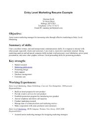 Entry Level Job Resume Resume For Your Job Application