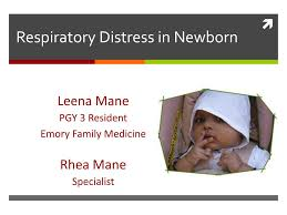 PPT   Respiratory Distress in Newborn PowerPoint Presentation   ID