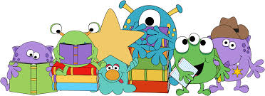 Image result for reading monsters