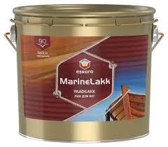 <b>Лак</b> яхтный Eskaro <b>Marine Lakk</b> 90 (2.4 л) <b>алкидно</b>-<b>уретановый</b> ...