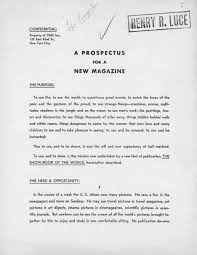 the now famous mission statement for life magazine see the the now famous 1936 mission statement for life magazine see the full prospectus here