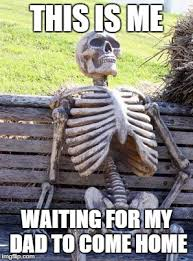 Waiting Skeleton Meme - Imgflip via Relatably.com