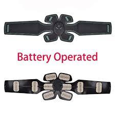 ZZEBRA Battery Operated: <b>ABS</b> EMS <b>Muscle Stimulator</b> Men ...