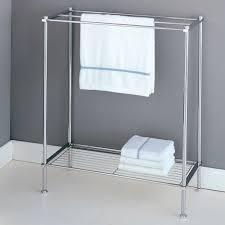 chrome towel shelves for bathroom