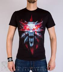 <b>Футболка Witcher</b> 3: Wild Hunt Ведьмак (волк) — Футболки — Рок ...