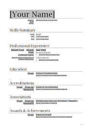 Best Photos of Good CV Example   Example Good Resume Template       Cv