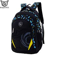 BAIJIAWEI <b>Children</b> Waterproof <b>Backpack</b> In Primary <b>School</b> ...