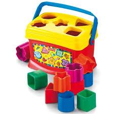 <b>Fisher</b>-<b>Price</b> Первые кубики малыша подарили Простой ...