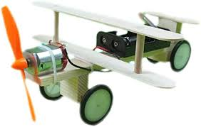 Homyl Scientific <b>DIY</b> Experiment <b>Electric Sliding Plane Aircraft</b> ...