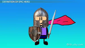 how is beowulf an epic hero video lesson transcript com epic hero definition characteristics examples