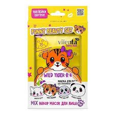 Подарочный набор <b>VILENTA</b> Funny <b>Beauty</b> Set Wild Tiger ...