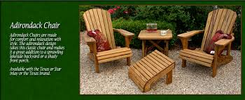 wood patio furniture outdoor decorations